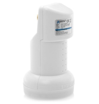 Anadol Gold Line Single LNB 0.1 dB (inklusive 2 vergoldete F-Stecker)