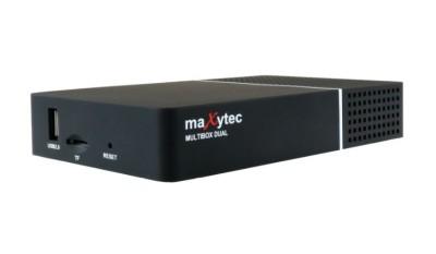 Maxytec Multibox Dual 4K Linux E2 UHD Sat Receiver 2x DVB-S2X
