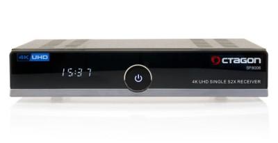 Octagon SF8008 4K UHD Linux E2 DVB-S2X Single Receiver