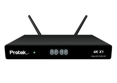 Protek X1 4K Linux E2 2160p UHD Sat Receiver