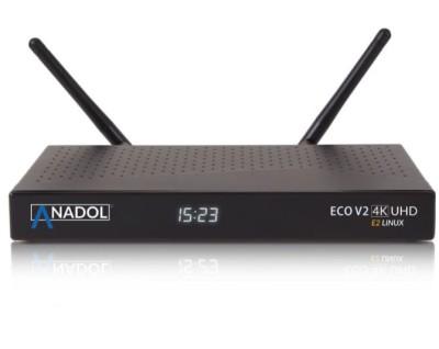 Anadol ECO V2 4K UHD Linux E2 Sat Receiver