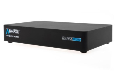 Anadol Multibox 4K UHD Linux E2 DVB-S2 & DVB-C/T2 Combo Receiver