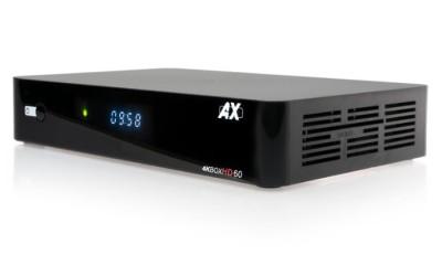 AX 4K-Box HD60 Linux E2 1x DVB-S2X MultiStream Tuner UHD Sat Receiver