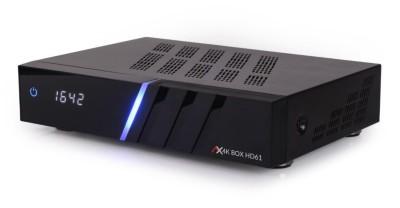 AX 4K-Box HD61 Linux E2 UHD Receiver 1x DVB-S2X 1x DVB-C/T2