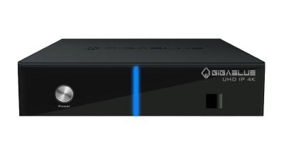 GigaBlue UHD IP 4K Linux E2 UHD Receiver mit Single DVB-S2X Tuner