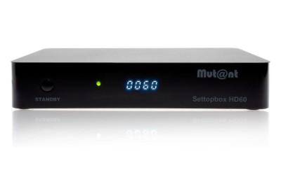 Mutant HD60 4K Linux E2 1x DVB-S2X MultiStream Tuner UHD Sat Receiver