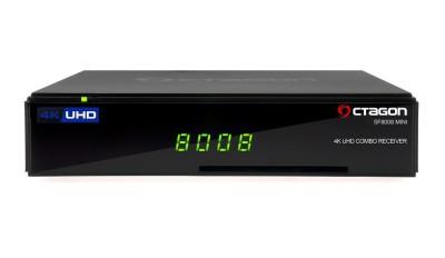Octagon SF8008 Mini 4K UHD Linux E2 DVB-S2X & DVB-C/T2 Combo Receiver