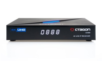 Octagon SX888 4K UHD H.265 IPTV Set-Top-Box