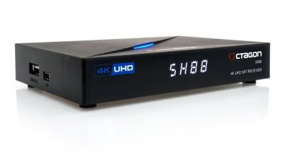 Octagon SX88 4K UHD S2+IP H.265 IPTV Sat Receiver