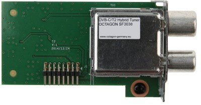 Octagon SF3038 DVB-C/T2 Single Hybrid Tuner