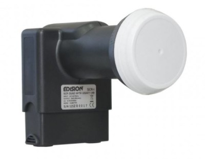 Edision SCR-1 Unicable Quad LNB 0.1dB