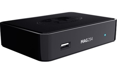 MAG 254 IPTV Multimedia Player Set Top Box