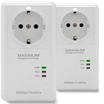 Maximum XO-500 S PowerLine dLAN Starterset