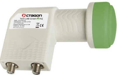 Octagon Twin LNB Green HQ 0.1dB