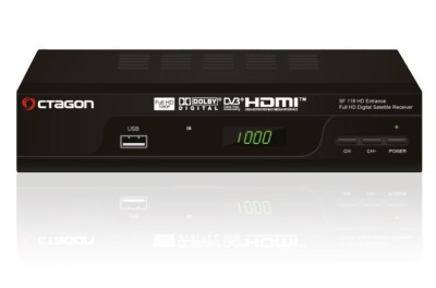 Octagon SF118 HD Entrance Sat Receiver