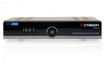 Octagon SF8008 4K UHD Linux E2 Linux DVB-S2X Single Receiver