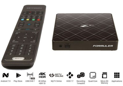 Formuler Z7+ 4K IPTV Android 7.0 Media Player, H.265, WiFi, Stalker