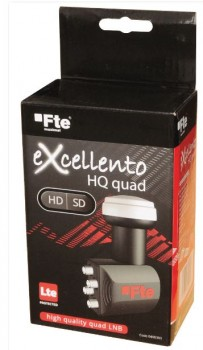 FTE eXcellento HQ Quad LNB 0.1dB