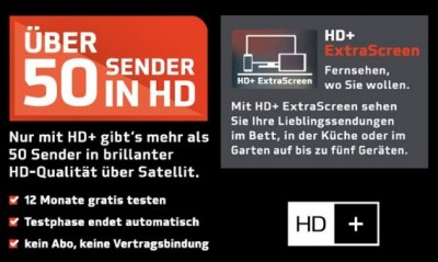 Humax UHD 4tune+ Sat Receiver inkl. 6 Monate HD+