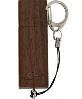 InLine woodstick 3.0 USB Stick 32GB, Walnuss