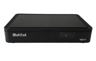 Mutant HD11 Linux E2 H.265 HEVC Sat Receiver