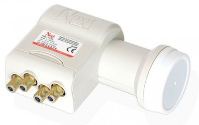 Next Gold Edition Quad LNB 0.1dB