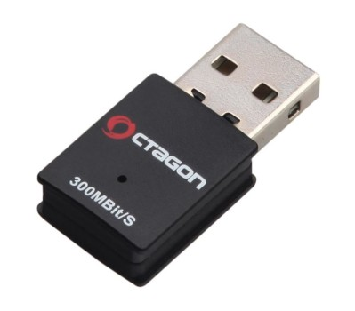 Octagon WL018 Wireless LAN USB 2.0 Adapter 300 MBit WLAN Stick