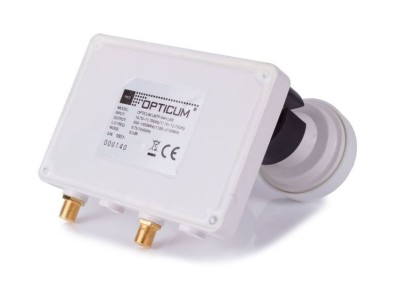 Opticum Monoblock Twin LNB LMTP-04H 6° 0.1dB