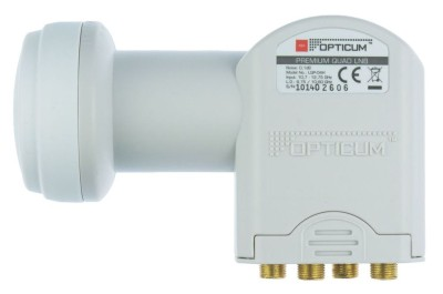 Opticum Quad LNB LQP-04H 0.1dB