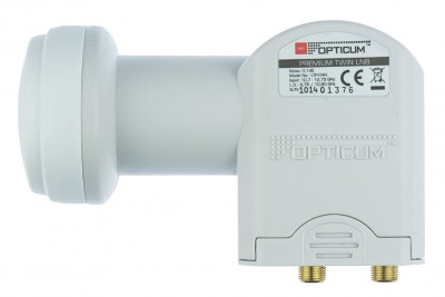 Opticum Twin LNB LTP-04H 0.1dB