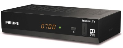 Philips DTR3502B DVB-T2 H.265 Irdeto HD Receiver (Freenet TV geeignet)