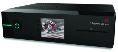 Red Eagle SingleBox LCD Linux E2 HD Sat Receiver
