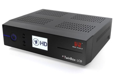 Red Eagle TwinBox LCD Linux E2 HD Sat Receiver