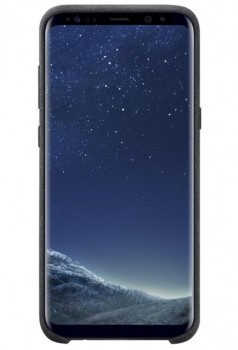 Samsung EF-XG955AS Alcantara Cover/Handyhülle für Galaxy S8 Plus