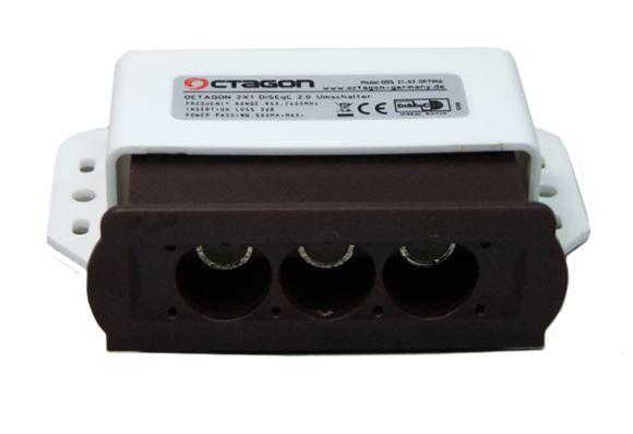 octagon diseqc schalter 2 1 optima ods 21 03. Black Bedroom Furniture Sets. Home Design Ideas