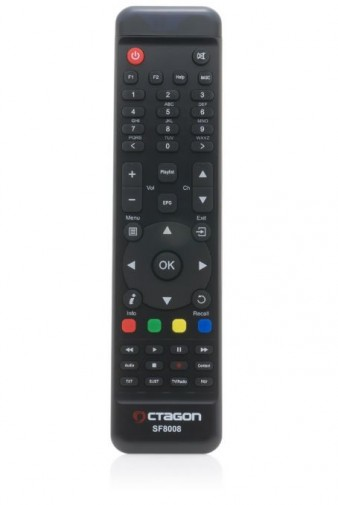 Octagon SF8008 4K UHD Linux E2 DVB-S2X Single Receiver + WLAN-Stick 300 MBit