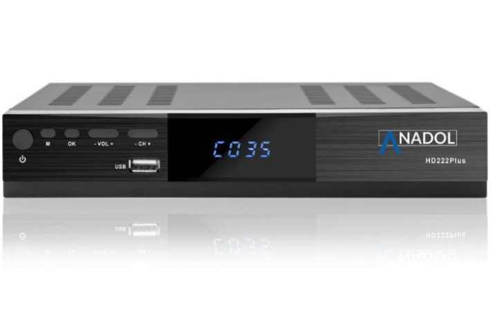Anadol ADX 222 Plus HD FTA Sat Receiver