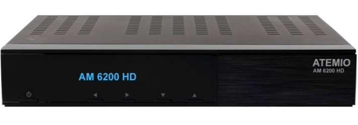 Atemio AM 6200 HD Linux E2 Twin Sat Receiver 2x DVB-S2