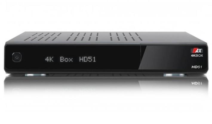 AX 4K-BOX HD51 UHD 2160p Linux E2 Twin Sat Receiver 2x DVB-S2X Preisvergleich
