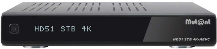 Mutant HD51 4K Linux E2 UHD Kabel Receiver 1x DVB-C/T2 Preisvergleich