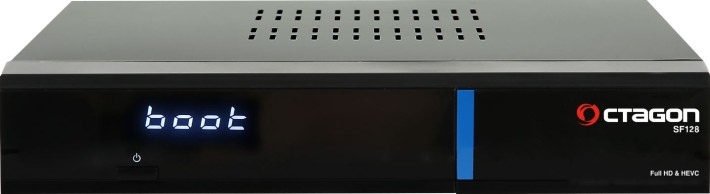 Octagon SF128 E2 HEVC H.265 HD Blue Linux Sat Receiver