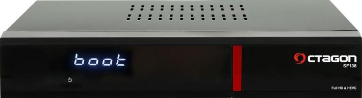 Octagon SF138 E2 HEVC H.265 HD Red Linux Kabel/Terrestrisch Receiver 1x DVB-C/T2 Preisvergleich
