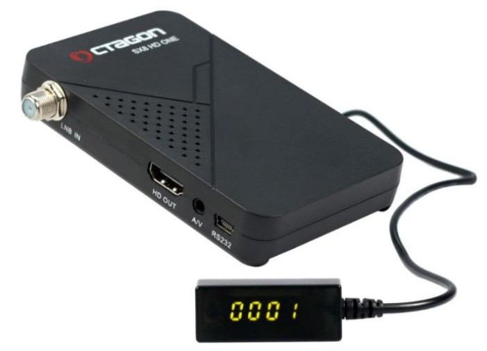 Octagon SX8 HD One Magic MultiStream FTA Sat Receiver