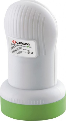 Octagon Single LNB Green HQ 0.1dB