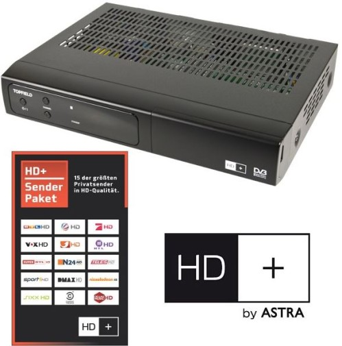 Topfield SBP-2001 HD+ Easy Sat Receiver inkl. 6 Monate HD-Plus