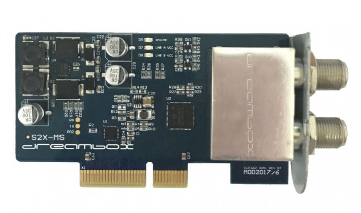 Dreambox DVB-S2X MultiStream Dual Tuner
