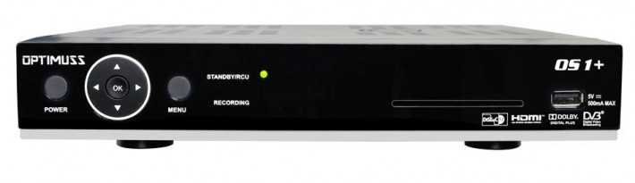 Edision Optimuss OS1+ Plus Linux E2 PVR Twin HD Sat Receiver 2x DVB-S2