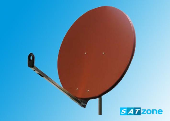 Gibertini Sat-Antenne 100cm Alu Ziegelrot Preisvergleich