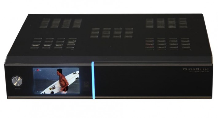 GigaBlue HD Quad Plus Linux E2 Twin Sat Receiver 2x DVB-S2 schwarz Preisvergleich