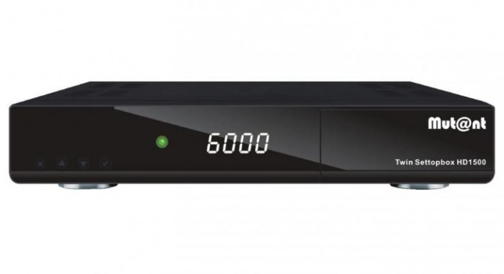 Mutant HD 1500 Linux E2 Twin Sat Receiver 2x DVB-S2
